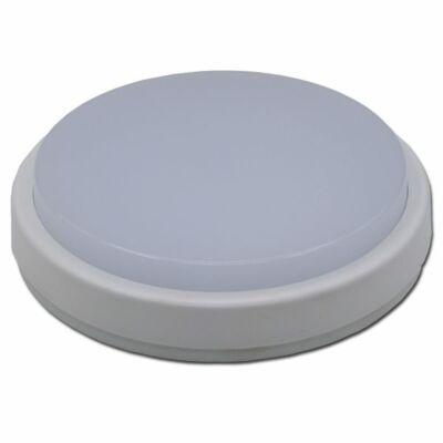 LED Lámpa falon kívüli, 8W, KEREK, semleges fehér -IP65 !!!