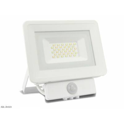 LED SMD reflektor 50W, kültéri, szenzorral, semleges fehér fény, IP65