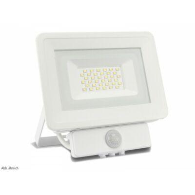 LED SMD reflektor 10W, kültéri, szenzorral, hideg fehér fény, IP65
