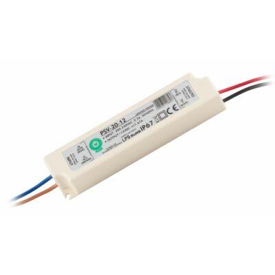 Tápegység LED szalagokhoz 20W, 12V, 1.67A, IP67