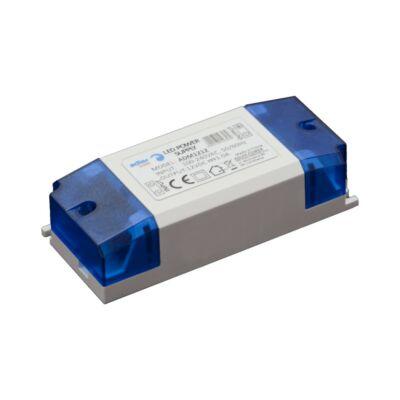 Tápegység LED szalagokhoz 12W, 12V, 1A műanyag ház