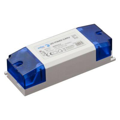 Tápegység LED szalagokhoz 24W, 12V, 2A műanyag ház