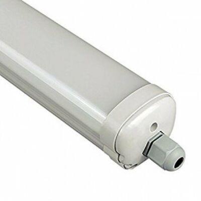 LED lámpatest , mennyezeti , 36 Watt , 120 cm , kompakt armatúra , por- és páravédett , IP65 , sorolható , természetes fehér