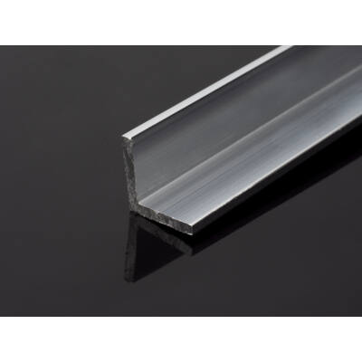 Alumínium L profil (15x15 mm) nyers