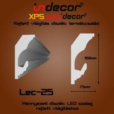 Lec-25 Mennyezeti rejtett világítás díszléc