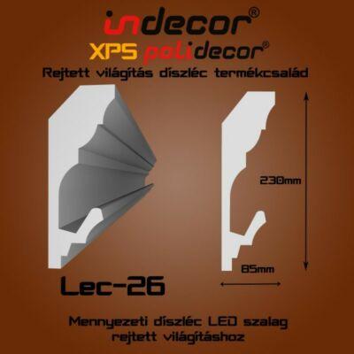 Lec-26 Mennyezeti rejtett világítás díszléc