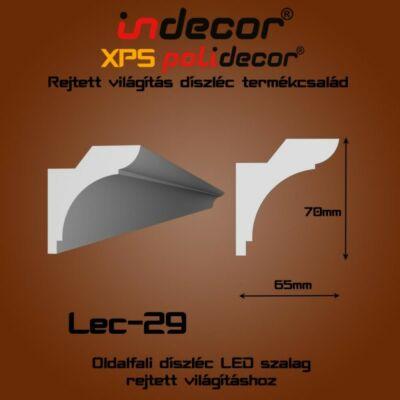 Lec-29 Oldalfali rejtett világítás díszléc