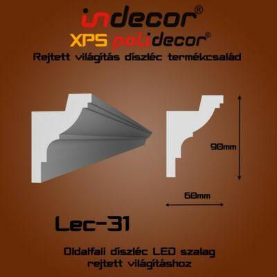 Lec-31 Oldalfali rejtett világítás díszléc