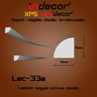 Lec-33A Ívelhető 15x15mm