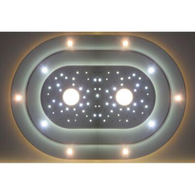3L-O-150-F kör álmennyezet sziget világítással