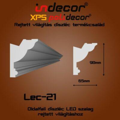 Lec-21 Oldalfali rejtett világítás díszléc
