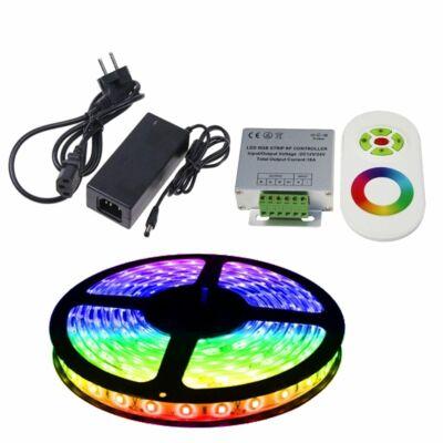 5m színváltós LED szalag szett (RGB)