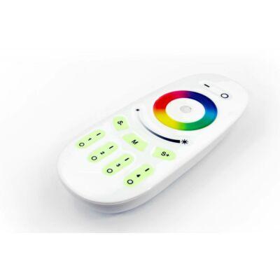 Érintésérzékeny RF RGB LED vezérlő 12V-24V 4 zónás