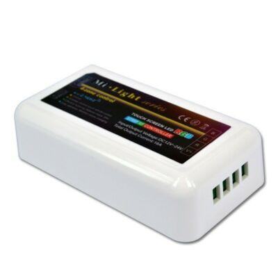 Érintésérzékeny RF RGB LED vezérlő modul 12V-24V 4 zónás