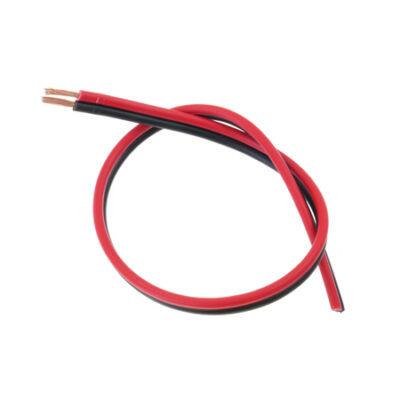 Vezeték LED szalagoz, piros-fekete, (2x0.75 mm2)